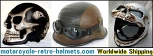 Buy Skull helmets Online from anywhere around the World!