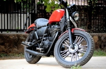 Abdiasc 633 - on a 350cc Thunderbird by Puranam Designs