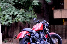Custom 350cc Thunderbird by Puranam Designs
