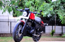 Modified 350cc Thunderbird by Puranam Designs
