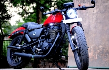 Royal Enfield Modification in Delhi India