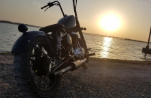 Royal Enfield Bobber in India
