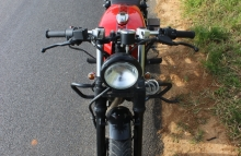 Small Engine Cafe Racer