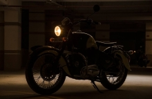 Balabhadra - Royal Enfield Standard inspired by Indian Chief by Eimor Customs