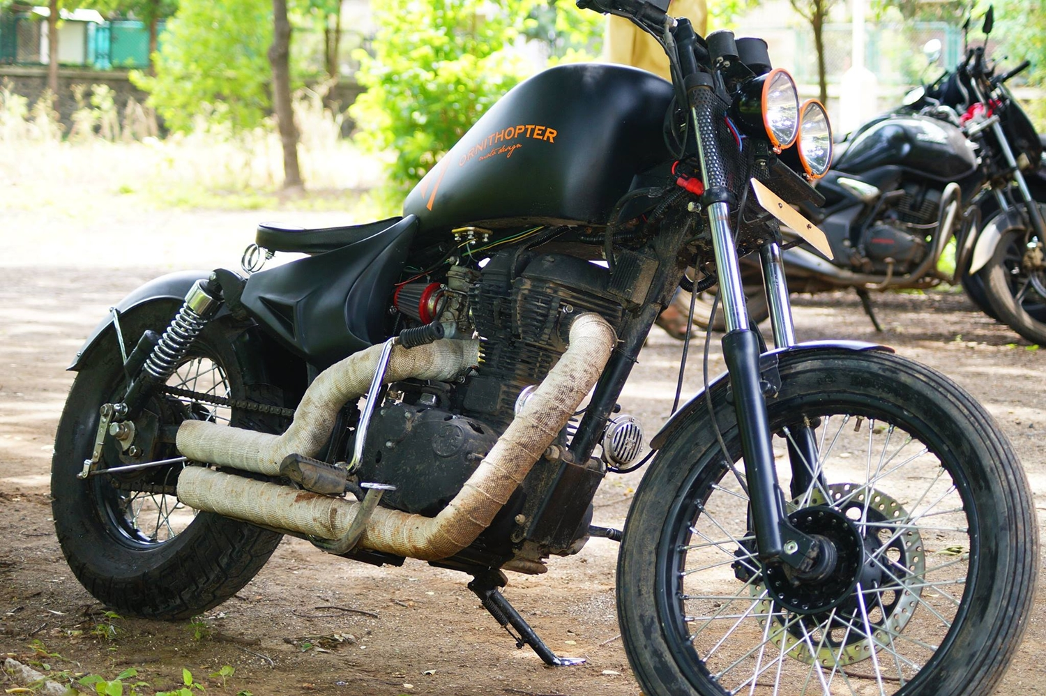 Bobber 53 Custom Royal Enfield Electra By Ornithopter