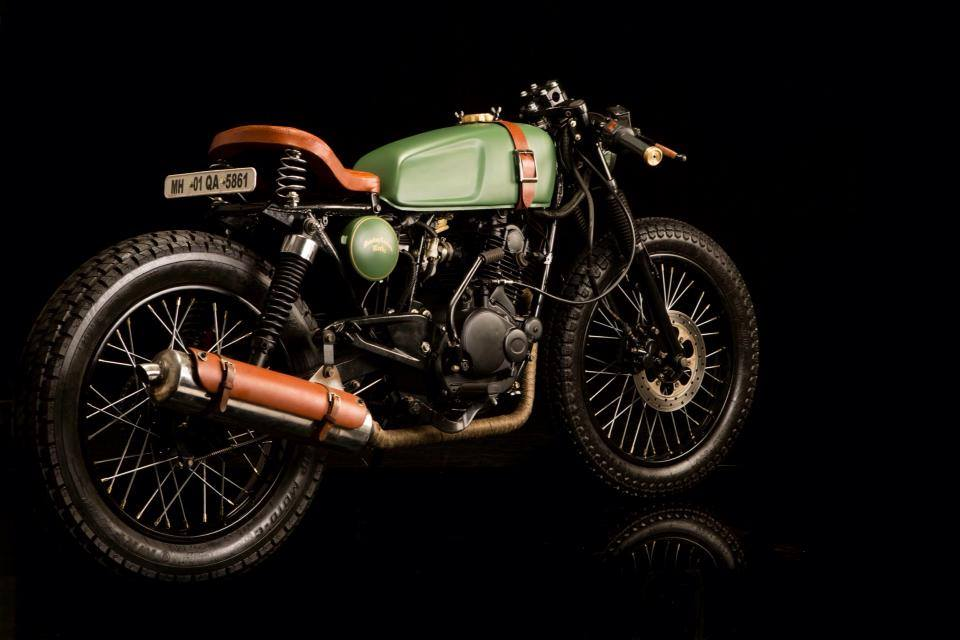 Building Cafe Racer India