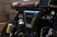 Brute Royal Enfield Continental GT Modification by Bulleteer Customs