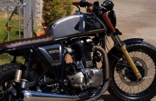 Modified Continental GT Cafe Racer by Bulleteer Customs