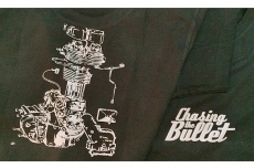 chasing the bullet - t-shirt