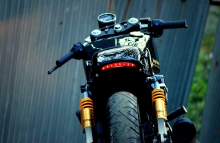 Modified Harley Davidson Street 750 Cafe Racer by Jedi Customs India