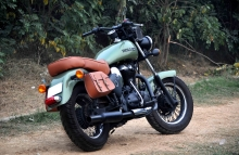 Royal Enfield Battle Green Legal in India