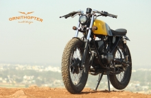 Modified Yamaha RX 100 ~ Ornithopter Moto Design