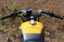 Yamaa RX100 Fuel Tank Painting