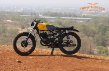 Yamaha RX 100 Scrambler Modification in India