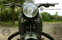 Army color Military Green Royal Enfield Classic available in India 2016