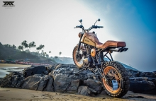 Royal Enfield 500cc Scrambler by Maratha Motorcycles