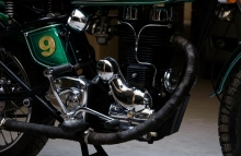 Royal Enfield Engine Chrome Paint Painter in India