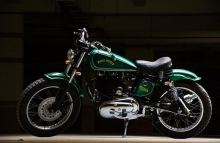 Royal Enfield Modification Gunmaster G2 Handcrafted by Eimor Customs