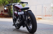 Custom Royal Enfield Bobber
