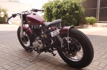 Haider Bulleteer Customs Royal Enfield Vintage Modification Bangalore