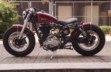 Haider Bulleteer Customs Royal Enfield Vintage Modification