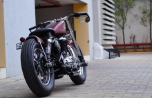 Royal Enfield Bobber Modified