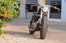 Royal Enfield Old School Bobber Modified