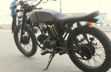 tracker motorcycle modification ~ by Ayas Custom Motorcycle