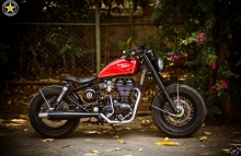 Royal Enfield Thunderbird Modification in India