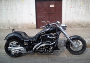 Mustang - Chopped 350cc Bullet from Indian Choppers