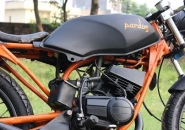 Iron_Soul_Machine_Pardus_Modified_Black_Yamaha_RX_135cc_Cafe_Racer_India