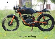 Iron_Soul_Machine_Pardus_Yamaha_RX_135_Cafe_Racer