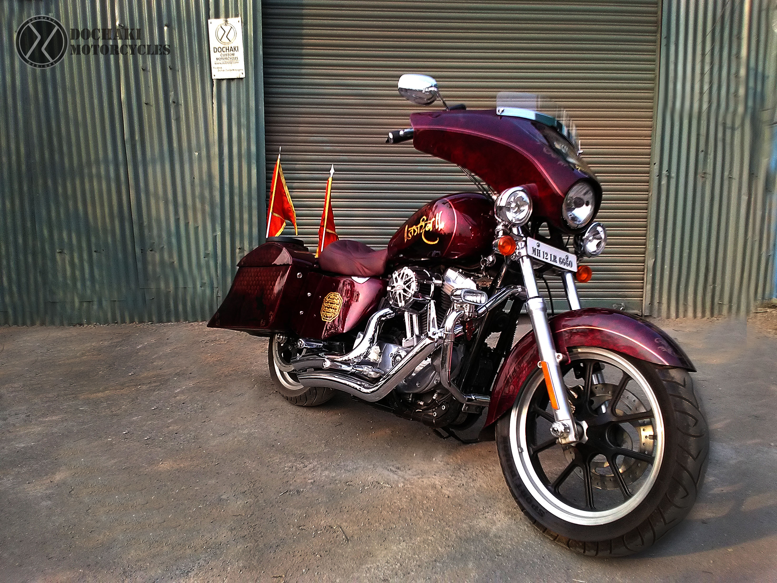 Custom Harley Davidson Superlow