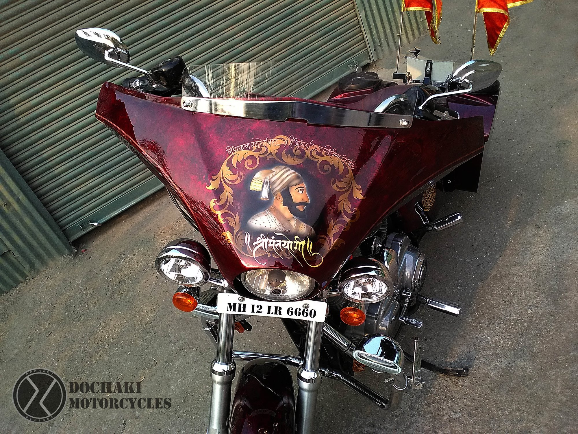 Harley Davidson Superlow Paint Fairing Sivaji