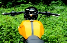 Jedi_customs_Modified_Royal_Enfield_Eectra_Cafe_Racer