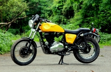 Jedi_customs_Royal_Enfield_Eectra_Modified_Cafe_Racer