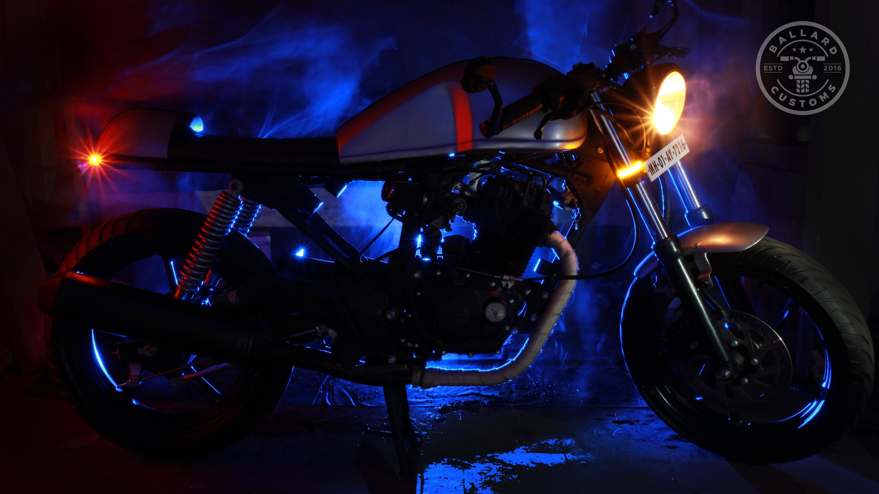 Modified Honda Karizma Cafe Racer by Ballard Customs