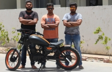 Modified LML CRD 100cc Bobber by Two Brothers Customs