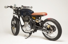 Modified Royal Enfield Continental GT Cafe Racer KR Customs