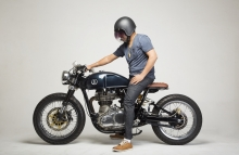 Royal Enfield Continental GT Cafe Racer Modification KR Customs