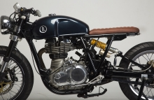 Royal Enfield Continental GT Modified Cafe Racer KR Customs