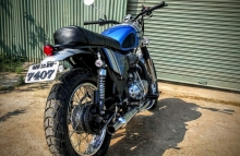 Royal Enfield Scrambler Modification Classic 350 Dochaki Design
