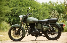 Best Military Green Royal Enfield Painting in India