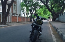 Bajaj Avenger Bobber Modified In India by Gear Gear Motorcycles Bangalore