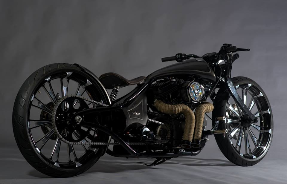 modified harley davidson super low 883