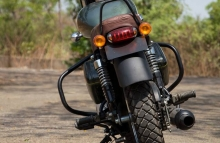 Matte Olive Green Royal Enfield Paint