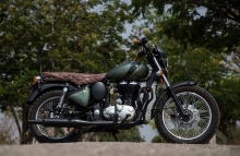Mr Oliver Royal Enfield Classic 350cc Modified Eimor Customs