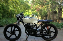 Nomad Motorcycle Custom Cafe Racer