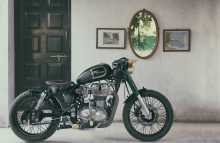 Nomad Motorcycle Royal Enfield Bobber