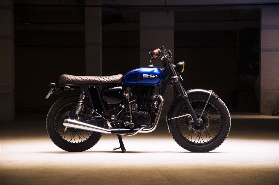 Paulie ~ Royal Enfield Classic 350 Cafe Racer/Scrambler by